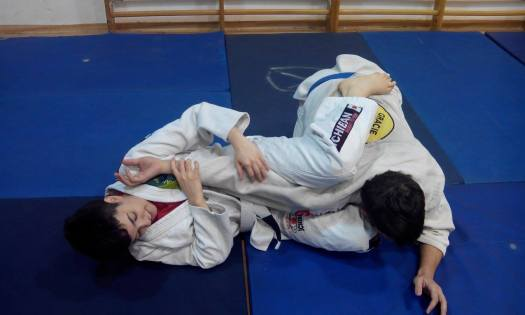 From my last BJJ training.